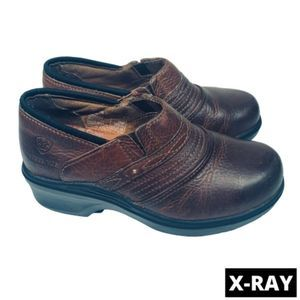 Ariat Slip Resistant Steel Toe Leather Clog